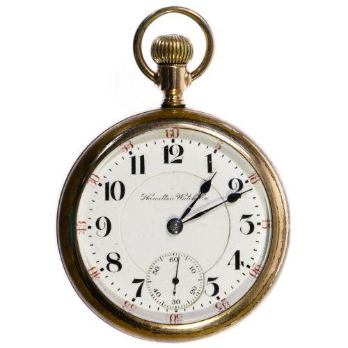 "Waltham ""940"" Gold Filled Railroad Pocket Watch"