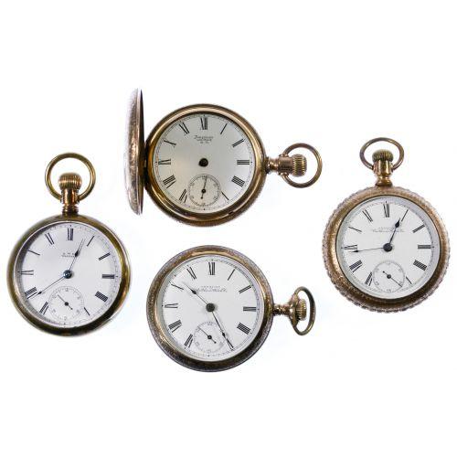 Waltham Gold Filled Pocket Watch Assortment