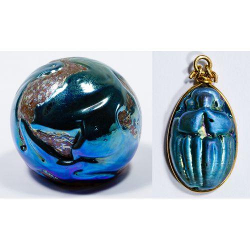 Daniel Lotton Art Glass Paperweight