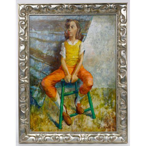 Marjorie Wallace (South African, 1925-2005) Oil on Board