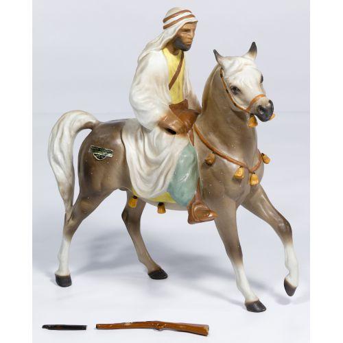 """Hagen-Renaker """"Bedouin on Horse"""" Figurine"""