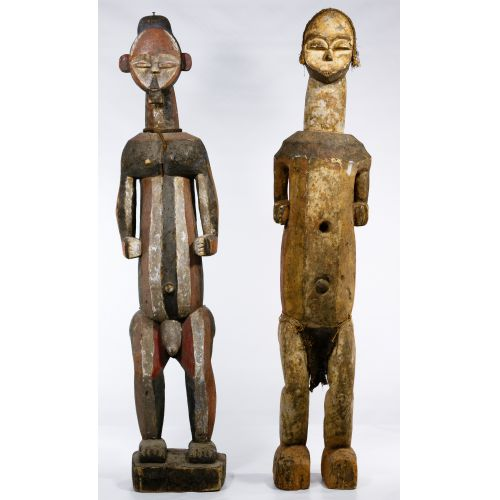 African Carved Wood Figures