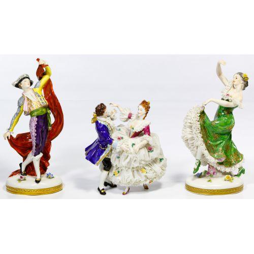 Porcelain Figurine Assortment