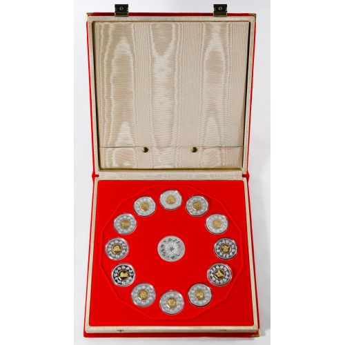Canada: 1998-2009 Chinese Lunar Proof Set
