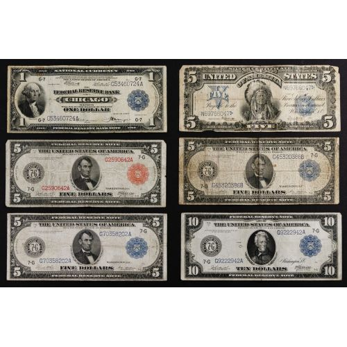 Large Sized Currency Assortment