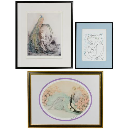 Picasso and Icart Prints