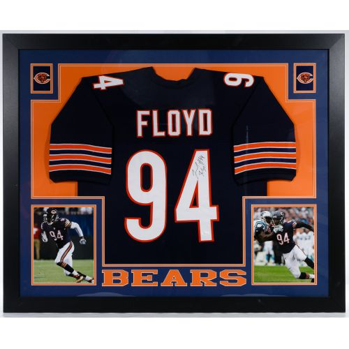 "Chicago Bears ""Leonard Floyd"" Autographed and Framed Jersey"