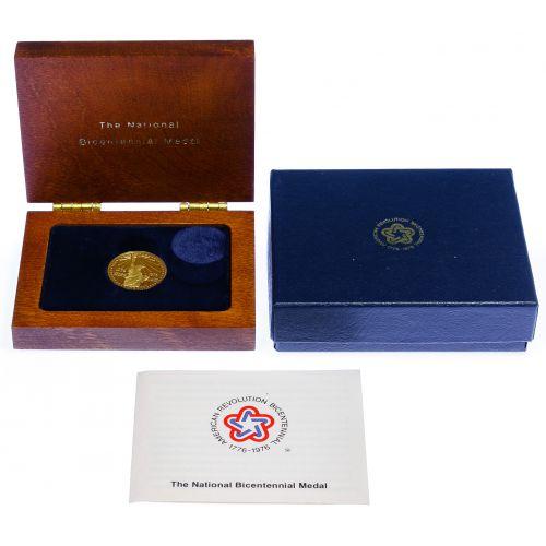 1976 National Bicentennial Gold Medal