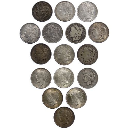Morgan and Peace $1 Assortment