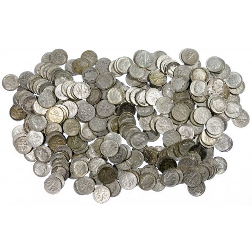 Roosevelt 10c Silver Assortment