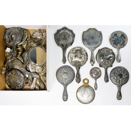 Silverplate Vanity Mirror Assortment