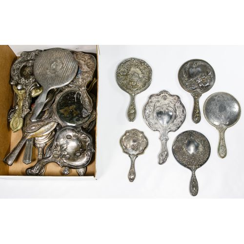 Silverplate Vanity Mirror Assortment