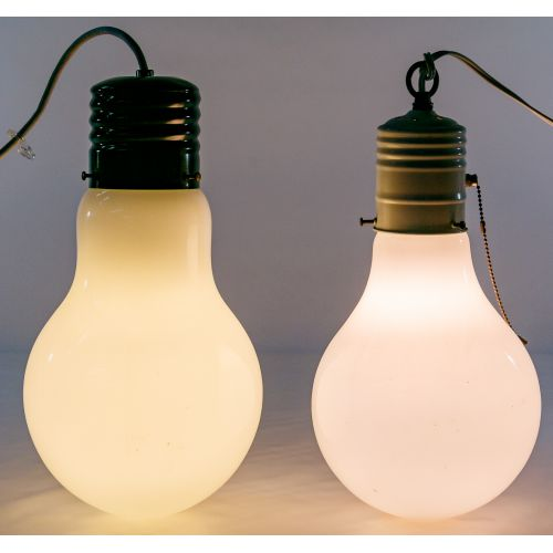 MCM Light Bulb Hanging Ceiling Lamps