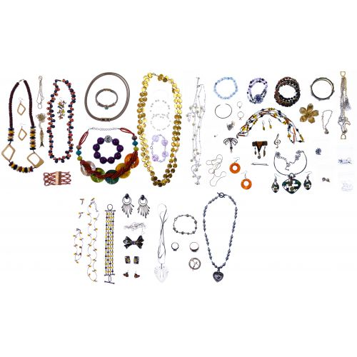 10k Gold, Sterling Silver, Gold Filled and Costume Jewelry Assortment