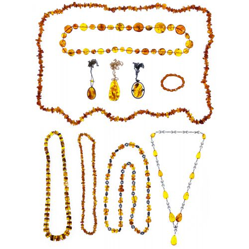 Amber Jewelry Assortment