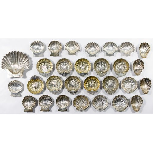 Sterling Silver Shell Nut Dish Assortment