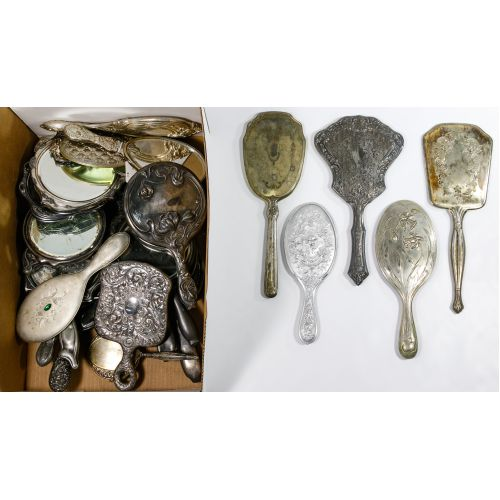 Silverplate Hand Mirror Assortment