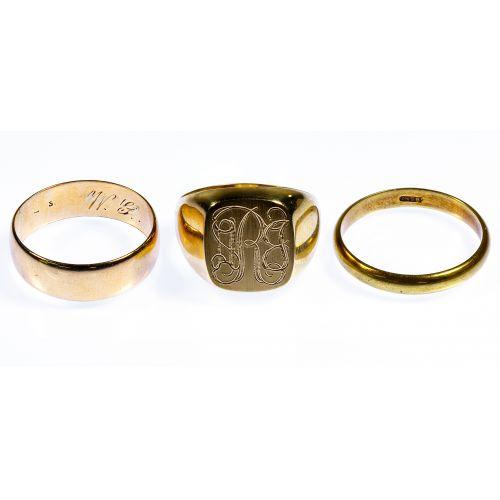 14k Gold Ring Assortment