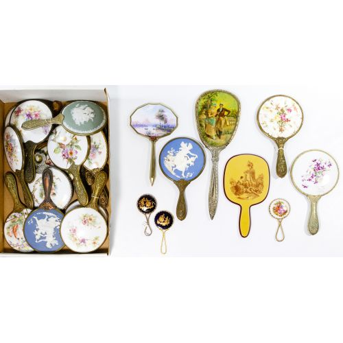 Figural and Flower Dresser Mirror Assortment