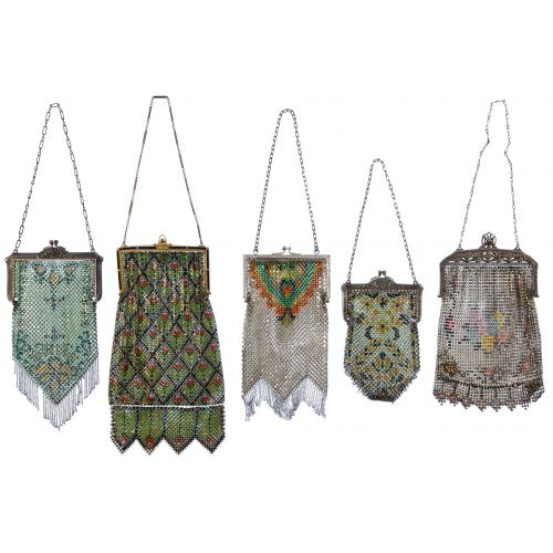 Painted Mesh Purse Assortment
