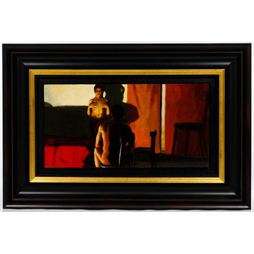 Ramon Lombarte (Spanish, b.1956) Oil on Board