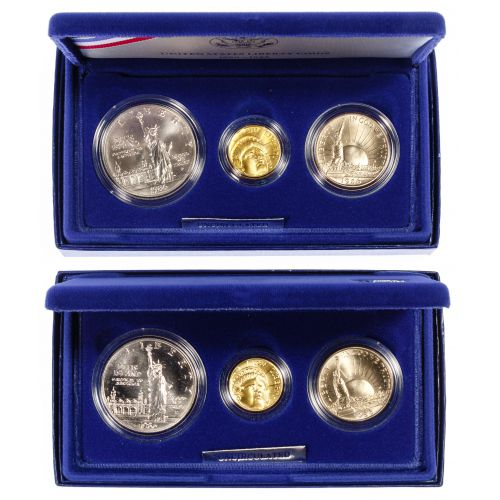 1986 Liberty Gold and Silver Coin Sets