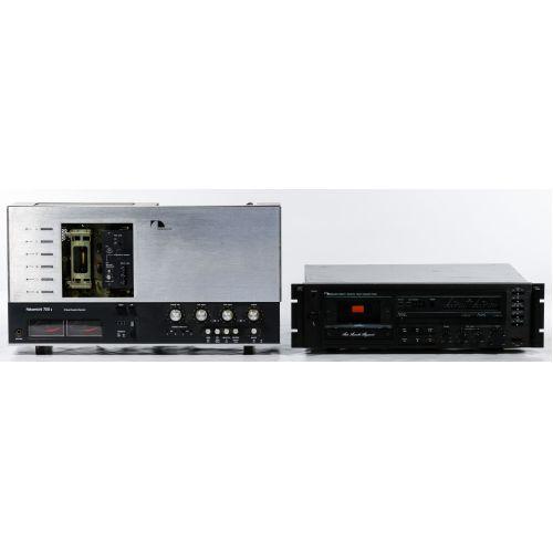 Nakamichi 700 II & Nakamichi 660 ZX Cassette Decks