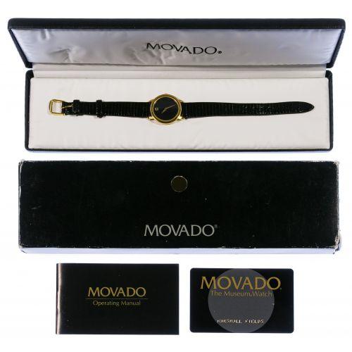 "Movado ""Museum"" Wrist Watch"