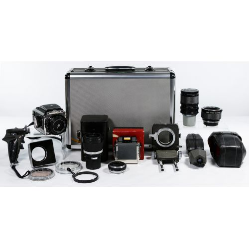Bronica S-2 Camera and accessories