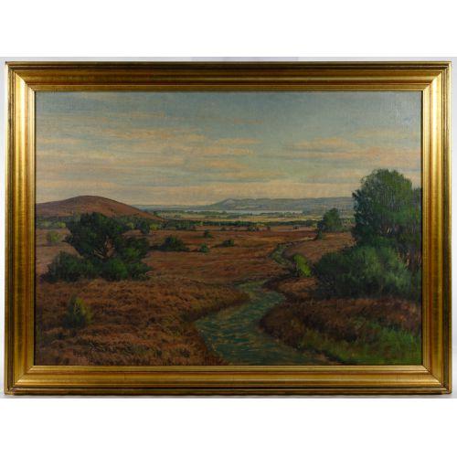Jorgen Ejsing (Danish, 1889-1954) Oil on Canvas