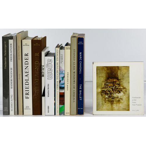 Art Coffee Table Book Assortment