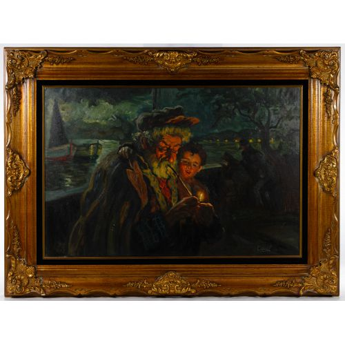 Manuel Casal (Spanish, b.1941) Oil on Canvas