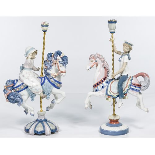 Lladro #5731 and #1470 Figurines