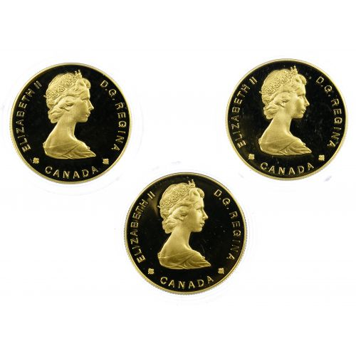 Canada: 1985 $100 Gold Coins