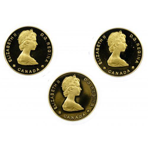 Canada: 1984 $100 Gold Assortment