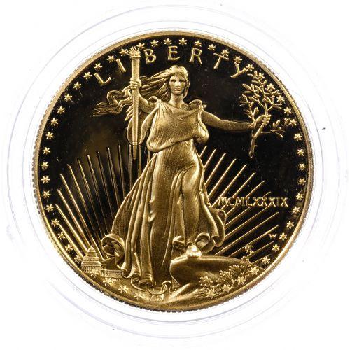 1989-W $50 Gold Proof American Eagle