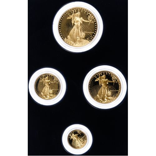 1988-W Gold American Eagle Proof Set