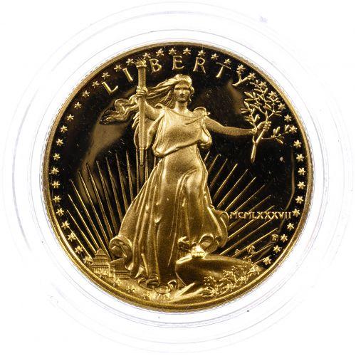 1987-W $25 Gold Proof American Eagle
