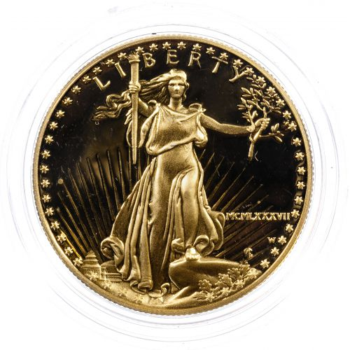 1987-W $50 Proof Gold American Eagle