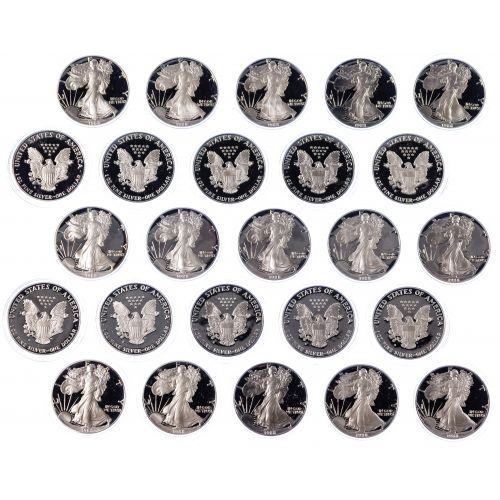 1988-S $1 Proof Silver Eagle Assortment