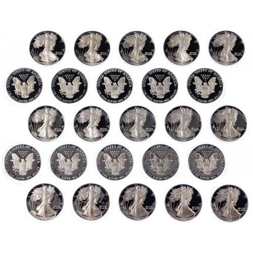 1986-S $1 Proof Silver Eagle Assortment