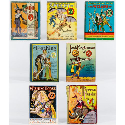 Ruth Plumly Thompson Wizard of Oz Book Assortment
