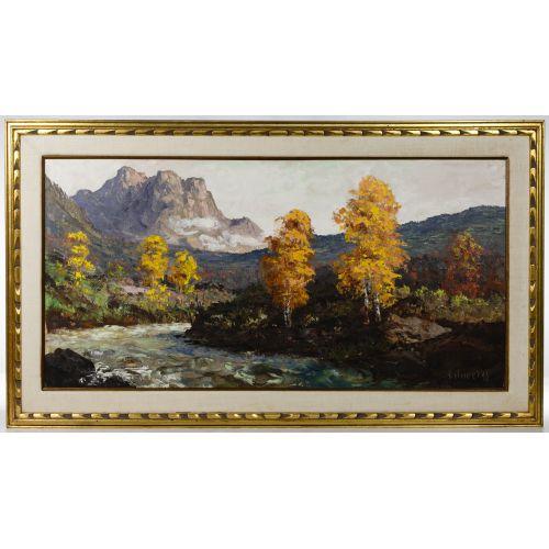 Segundo Heurtas (Argentinian, 1923-2010) Oil on Canvas