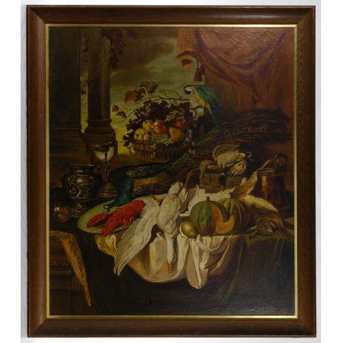 G Lassau (European, 20th Century) Oil on Canvas