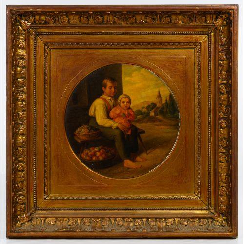 Unknown Artist (Continental School, 19th / 20th Century) Oil on Board