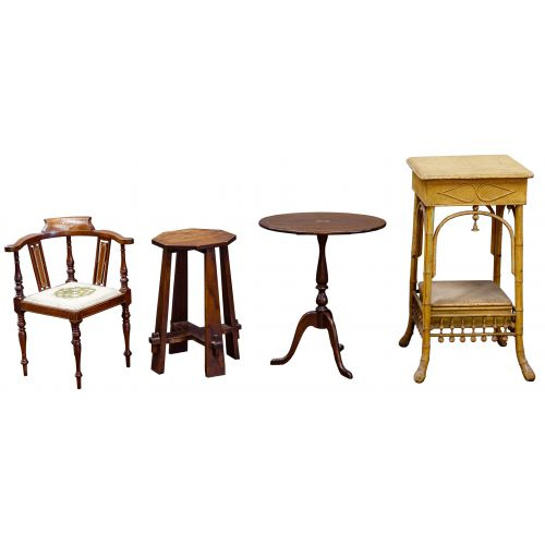 Side Table and Chair Assortment
