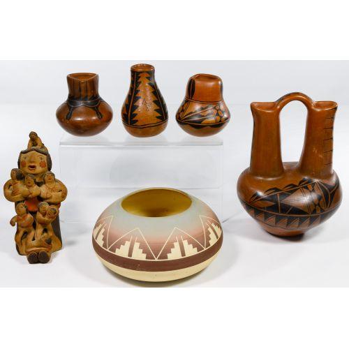 Pueblo Indian Pottery Assortment