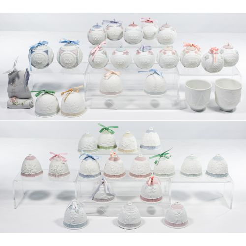 Lladro Bell and Ball Assortment