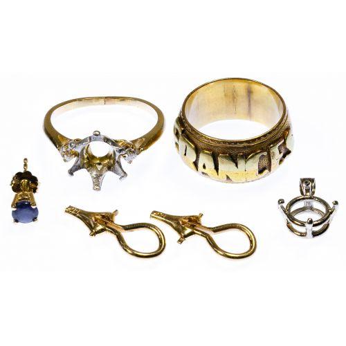 14k Gold Band Ring