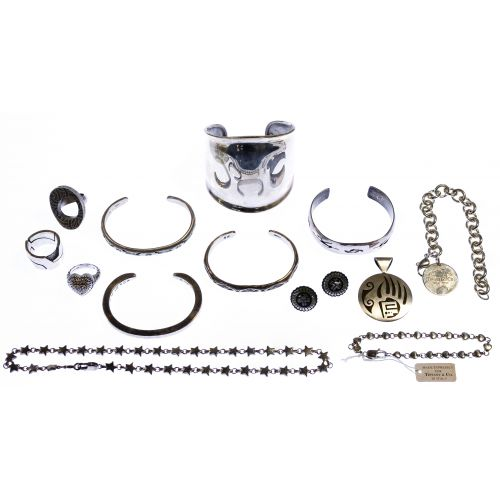 Designer Sterling Silver Jewelry Assortment